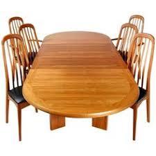 benny linden scandinavian style teak dining room set