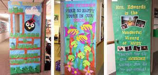 Teacher Appreciation Door Decorating IdeasTips for PTO and PTA