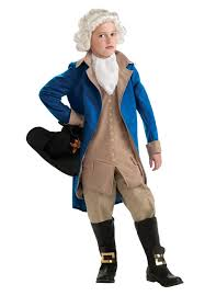 george washington deluxe child costume
