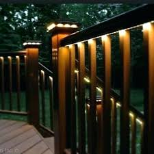 led outdoor deck lighting. Outdoor Led Deck Lighting Ideas Solar Within . O