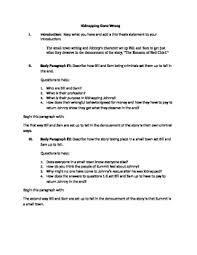 Writing A Literary Analysis Paper
