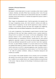 018 Personal Statement College Scholarship Examples Papers