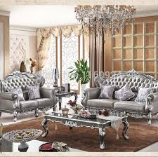 Silver Living Room Furniture
