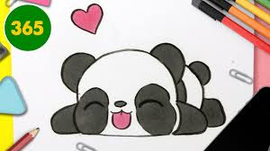 .dessin animé mignon sur la meilleure banque photo depositphotos! Comment Dessiner Panda Kawaii Etape Par Etape Dessins Kawaii Facile Youtube