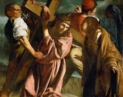 resultado de imagen para christ carrying the cross