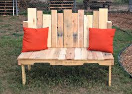 Diy Wood Pallet Bench Veganomaly