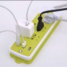 Ổ Điện Đa Năng Chống Giật * 3 Cổng USB và 6 Ổ Cắm - Ổ cắm điện