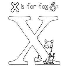 Small Picture Top 10 Free Printable Letter X Coloring Pages Online