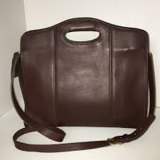 details about coach 9995 x large brown leather tote per cross bag usa