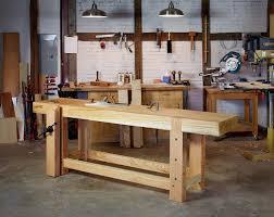 Split Top Roubo Workbench  Readeru0027s Gallery  Fine Woodworking Roubo Woodworking Bench