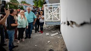 The page shows the disaster and emergency events that occurred on earth in near real time. Puerto Rico Earthquake 1 Dead Power Outages In 6 4 Magnitude Quake