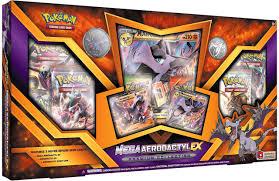 Pokemon Trading Card Game Mega Aerodactyl-EX Premium Collection 6 Booster  Packs, 3 Promo Cards, Oversize Card Pin Pokemon USA - ToyWiz