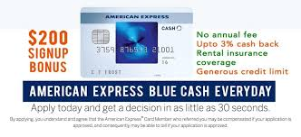 Pay it plan it program offers two ways to pay down purchases over time. American Express Blue Cash Everyday Get 200 Referral Signup Bonus