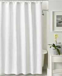 cotton waffle weave shower curtain extra long shower curtain design in dimensions 1320 x 1616