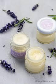 homemade lavender lip balm recipe with