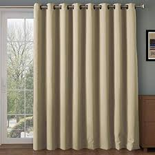 sliding glass door curtains elegant com rhf wide thermal blackout patio curtain panel for 6
