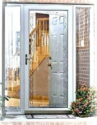 storm front screen doors with glass porch door used mobile home exterior for full size
