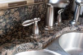 remove hard water stains from granite