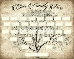 free family tree printable printable family tree template type in your names using adobe reader print and frame free printable family tree template 5