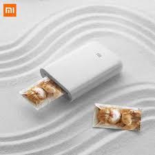 <b>Xiaomi mijia AR Printer</b> 300dpi Portable Photo Mini Pocket With DIY ...
