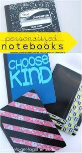 personalized notebooks from let s get together
