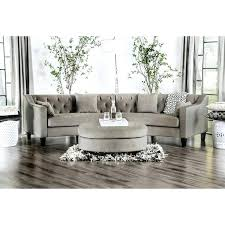 tufted furniture trend.  Trend Tufted Furniture Contemporary Grey Rounded Sectional Sofa By  Of Trend   For Tufted Furniture Trend
