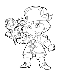 Small Picture Dora The Explorer Halloween Coloring Pages Coloring Coloring Pages