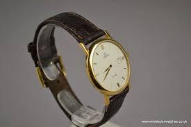 gents omega 18ct solid gold de ville dress watch wr0922 gents omega 18ct solid gold de ville dress watch wr0922