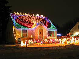 Christmas Decorations Ideas For Outside Of House Xmas Lights