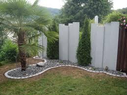 Pinterest Granitstelen Ideen F R Garten Sichtschutz