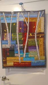 Tall Trees Creations Classes & ... Quilt classes. The background is pieced on a foundation material,  trimmed, and sewn together. The trees are added which actually quilts the  project. Adamdwight.com