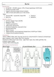 Types Rule Of Nines Or Lund Browder Chart Or Hand Method