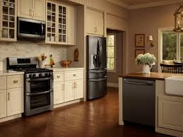 ... Medium Size Of Kitchen Design:awesome Grey Cabinets Black Appliances  Kitchen Gusto Grace Regarding Dimensions