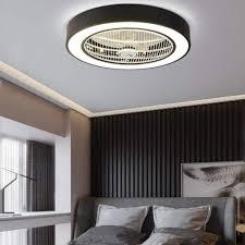 Welche lampen brauche ich für mein schlafzimmer? Deckenventilatoren Mit Beleuchtung Beleuchtung Deckenventilator Lampe Led Dimmer Fan Deckenleuchte Moderne Deckenlampe Beleuchtung Schlafzimmer Lampe Wohnzimmer Kinder Lufter Kronleuchter Fernbedienung Einstellbare Leise Decken Ventilator Weiss