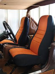 jeep wrangler standard color seat covers 76 90 high back