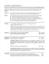 Sample Resume For Flight Attendant So Your Flight Attendant Resume Sample 6pack