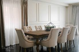 wainscoting dining room diy. Restoration Hardware Inspired DIY Wainscoting \u0026 Chair Rail Traditional- Dining-room Dining Room Diy A