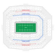 Nfl Stadium Seating Charts Rare San Diego Chargers Stadium