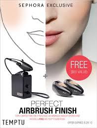temptu airbrush foundation pods best airbrush 2017 flawless plexion airbrush makeup kit temptu
