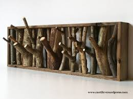 Branch Wall Coat Rack Unique Branch Hooks Art Pinterest Coat Racks Wolf Den And Coat Hanger