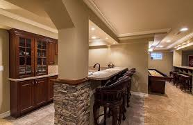 Best Basement Design Mesmerizing Awesome Basement Bar Ideas For Small Spaces Design Home Interior