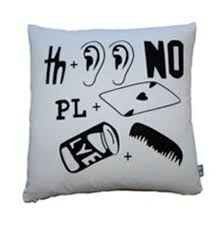 luxury lab linens rebus throw pillows  cool hunting