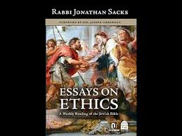 essays in ethics rabbi sacks essays in ethics