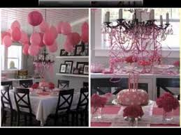 Design Party Decorations Custom DIY Girls Birthday Party Decorations Ideas YouTube