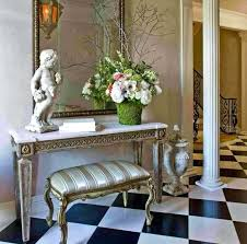 Small entryway table ideas Every Style Foyer Table Decor Image Of Foyer Table Ideas With Decorative Sculpture Small Entryway Table Decor Annetuckleyco Foyer Table Decor Best Foyer Table Decor Ideas On Console Table