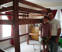 Building A Loft Bed Bunk Loft Bed Plans
