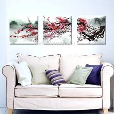 3 piece framed art set cherry blossom wall art set 3 nursery wall art blowing cherry 3 piece framed art set