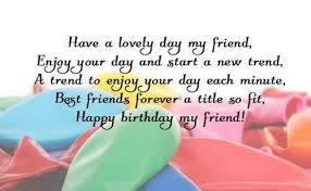 Birthday Quotes For Friend Amazing 48 Birthday Quotes And Wishes For Friend WishesGreeting