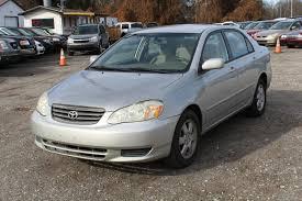 2003 Toyota Corolla CE city MD South County Public Auto Auction