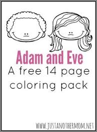 Top 25 Freeprintable Adam And Eve Coloring Pages Online Chronicles